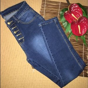 Button Fly Jeans M